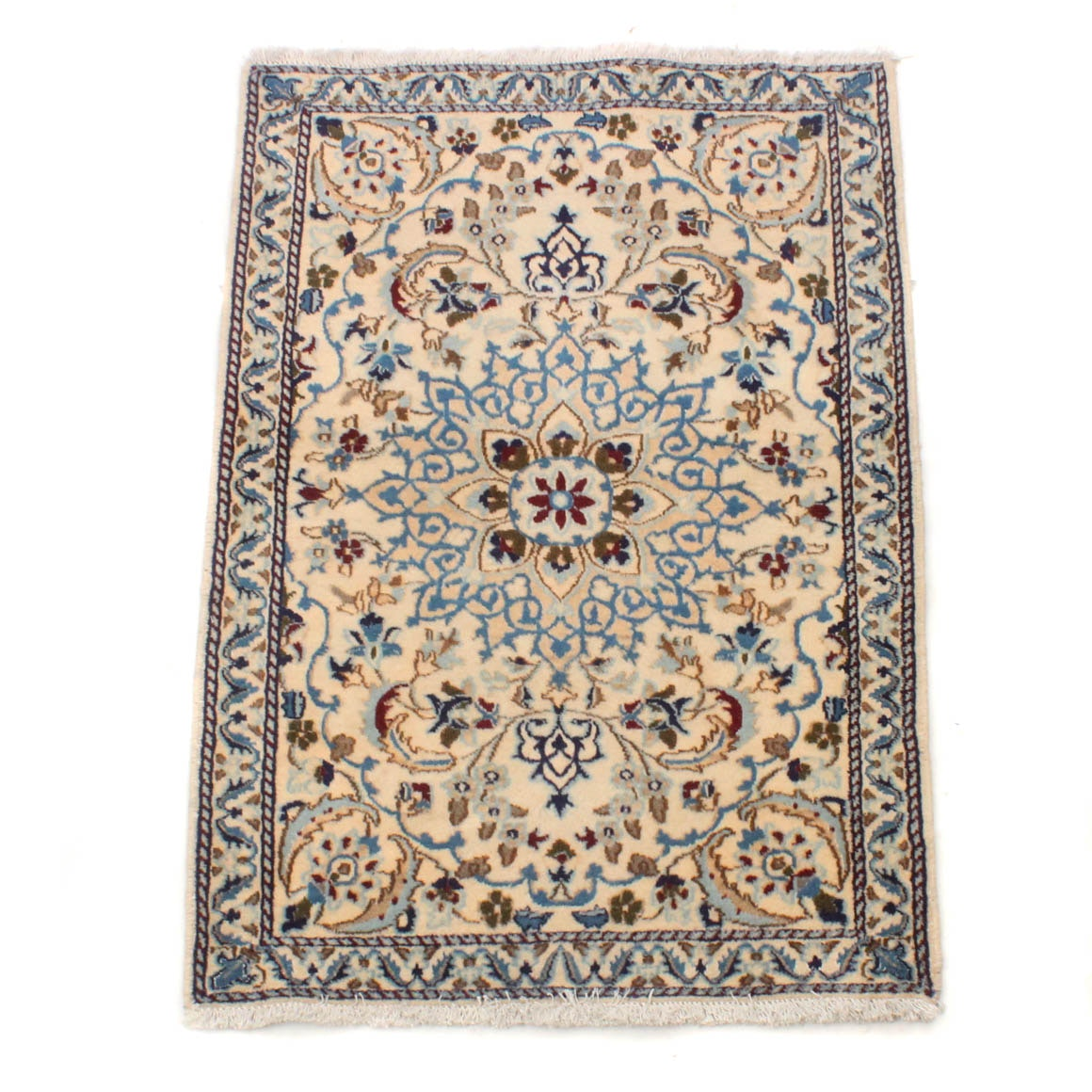 3' x 5' Hand-Knotted Persian Kashmir Rug