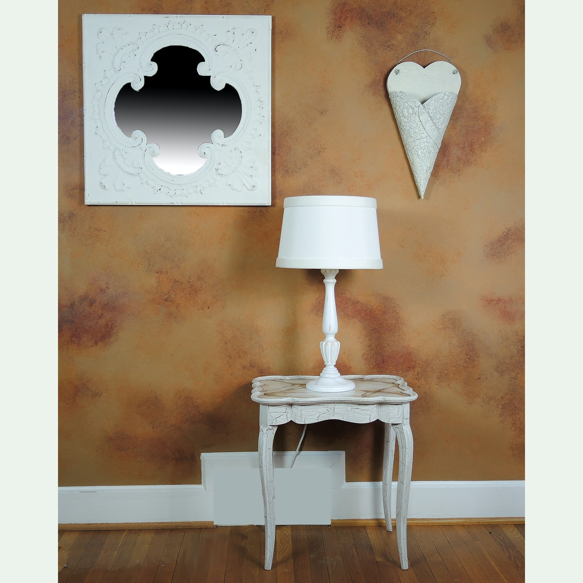White Country Cottage Decor