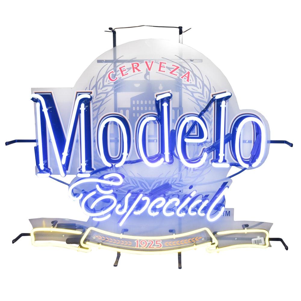 Cerveza Modelo Especial Neon Sign