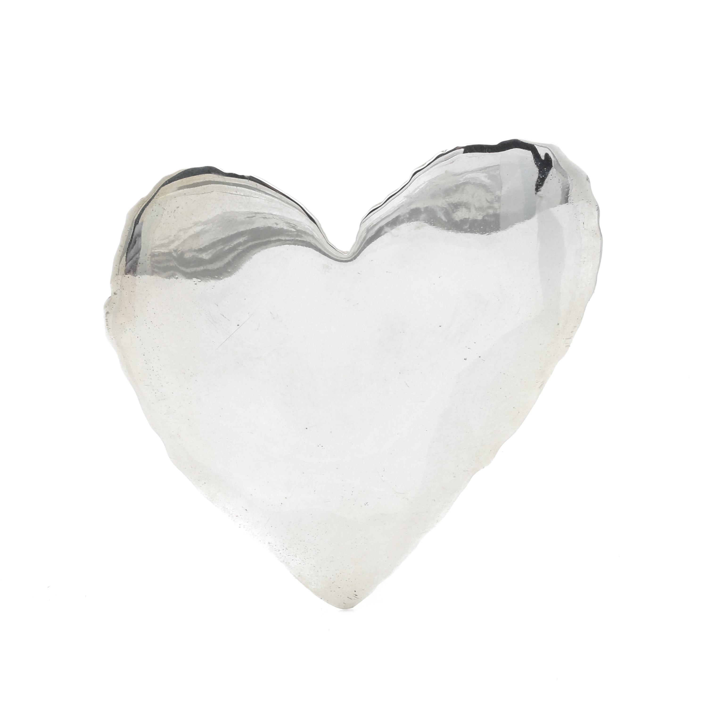 Sterling Silver Bill Schiffer Artisan Heart Brooch