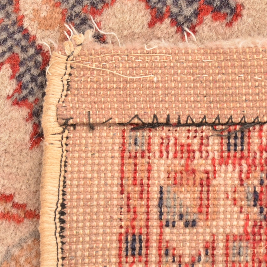 Persian Style Wool Area Rug Ebth: Power Loomed Wool Persian Style Area Rug