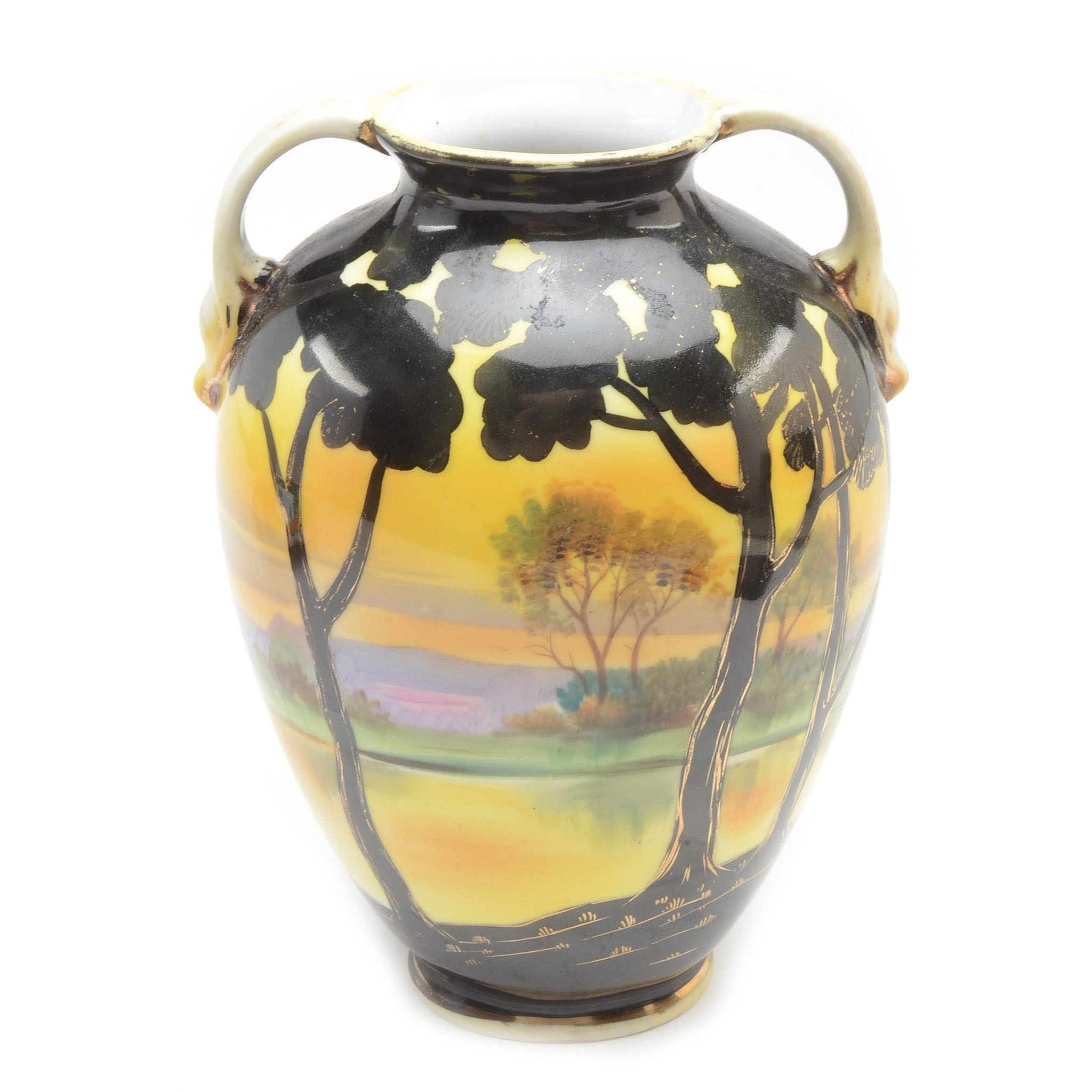 Decorative Nippon Noritake Vase