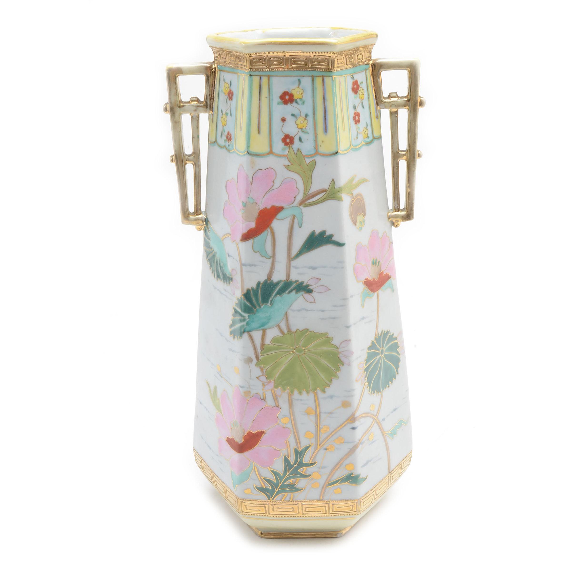 Art Nouveau Nippon Noritake Vase