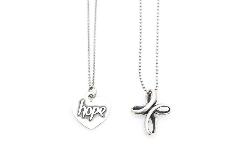 James Avery Sterling Silver Necklaces