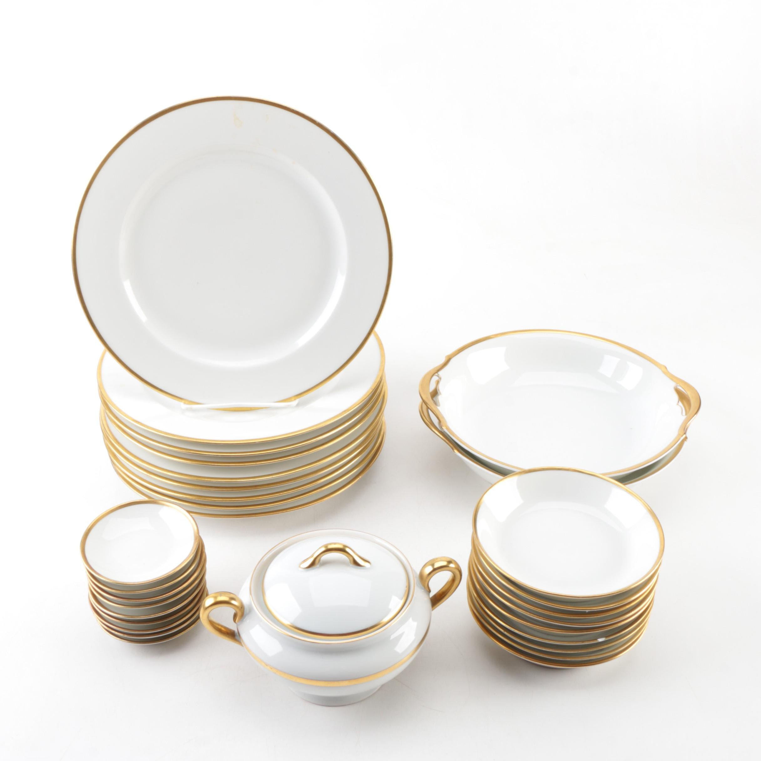 Tressemann u0026 Vogt and Vignaud Freres Limoges Porcelain Dinnerware ...  sc 1 st  EBTH.com & Tressemann u0026 Vogt and Vignaud Freres Limoges Porcelain Dinnerware : EBTH