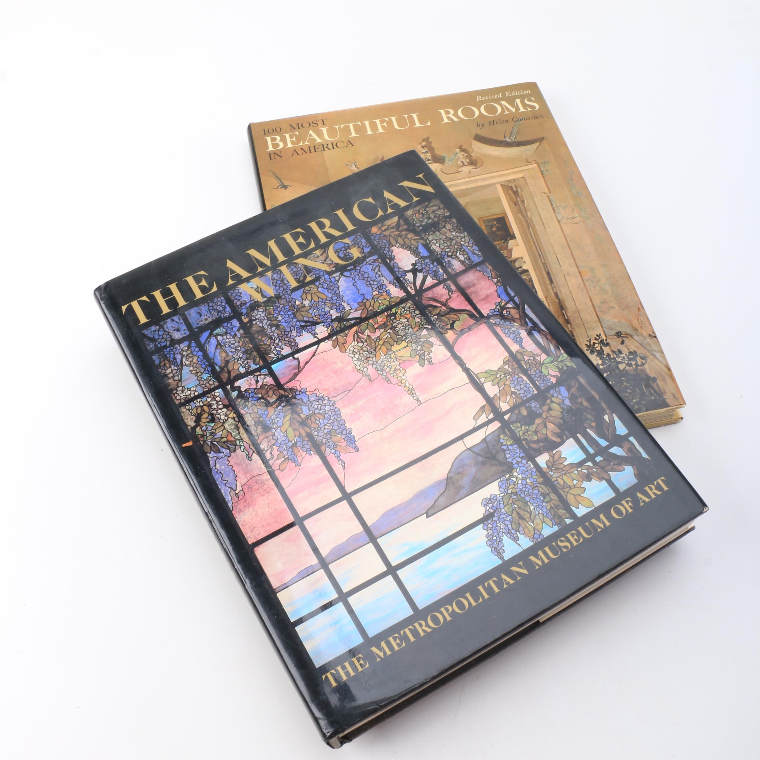 "1985 ""The American Wing"" and 1965 ""100 Most Beautiful Rooms in America"""