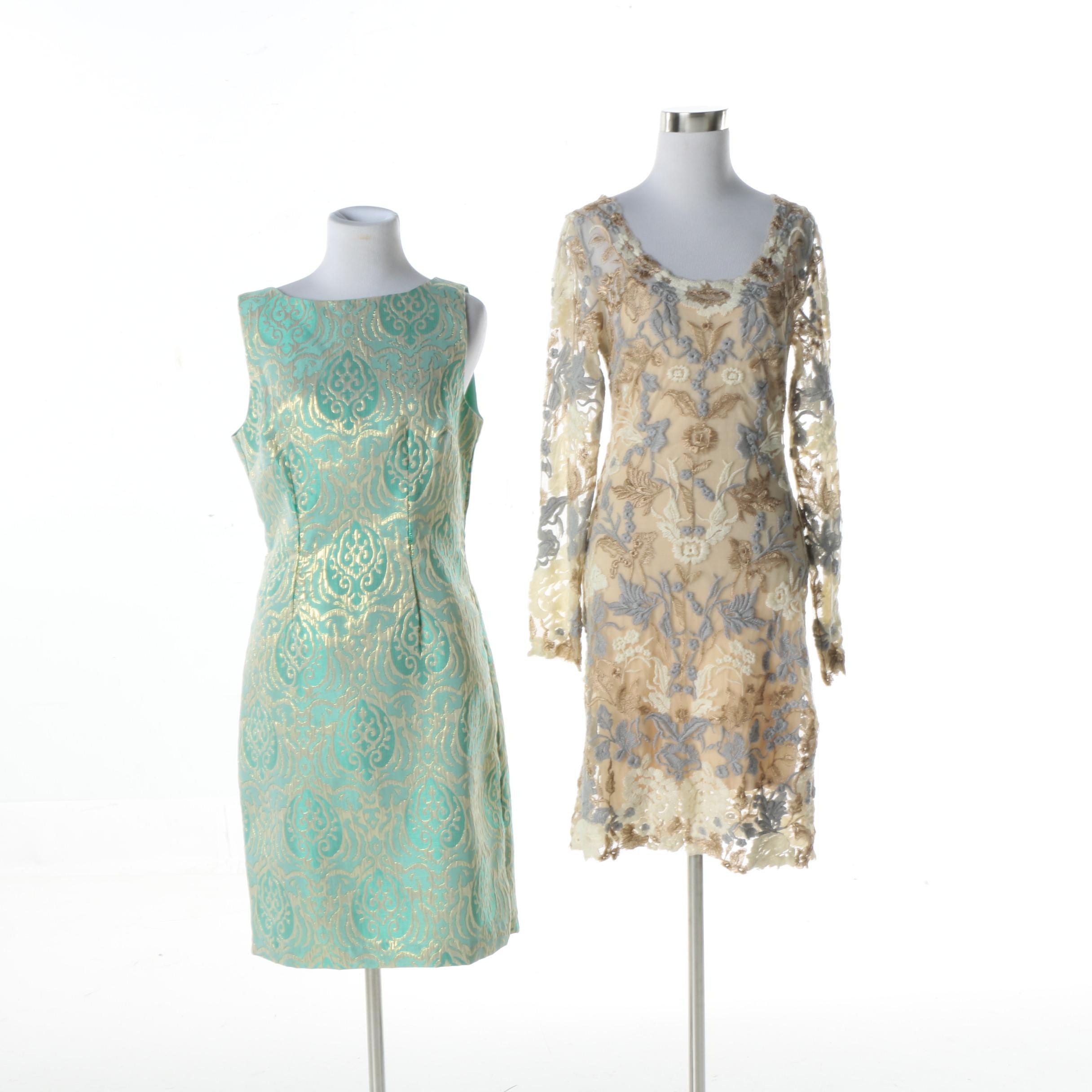 Women's Chetta B and Candela Sheath Dresses