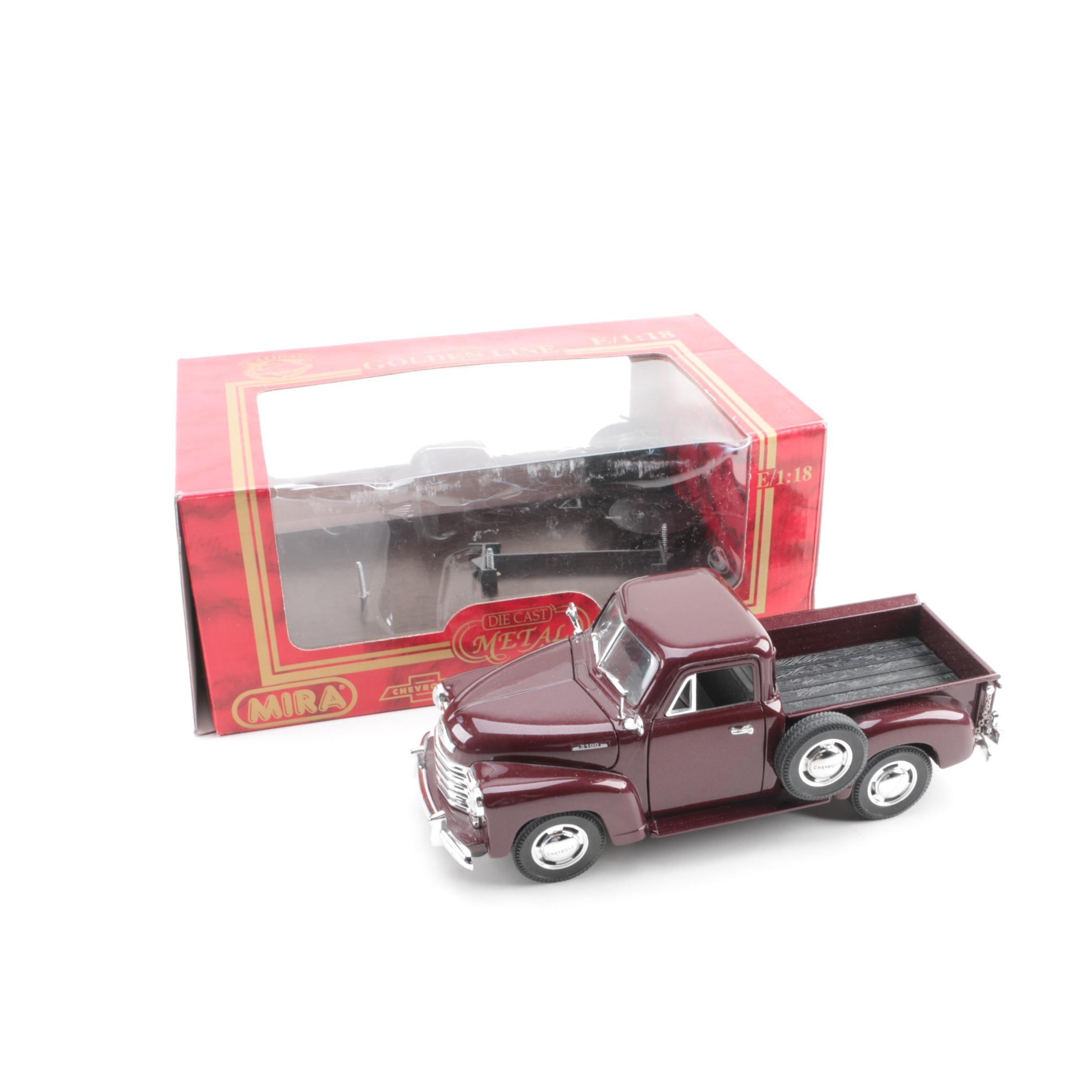 Mira Die-Cast 1953 Chevrolet 3100 Pickup Truck