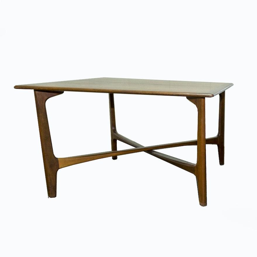 Danish Modern Teak Coffee Table By Dux Ebth
