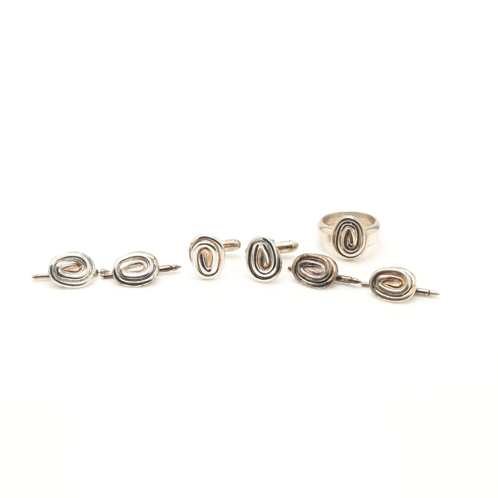 Bill Schiffer Sterling Silver Jewelry
