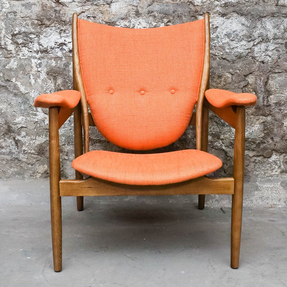 Danish Modern Armchair, After Finn Juhl