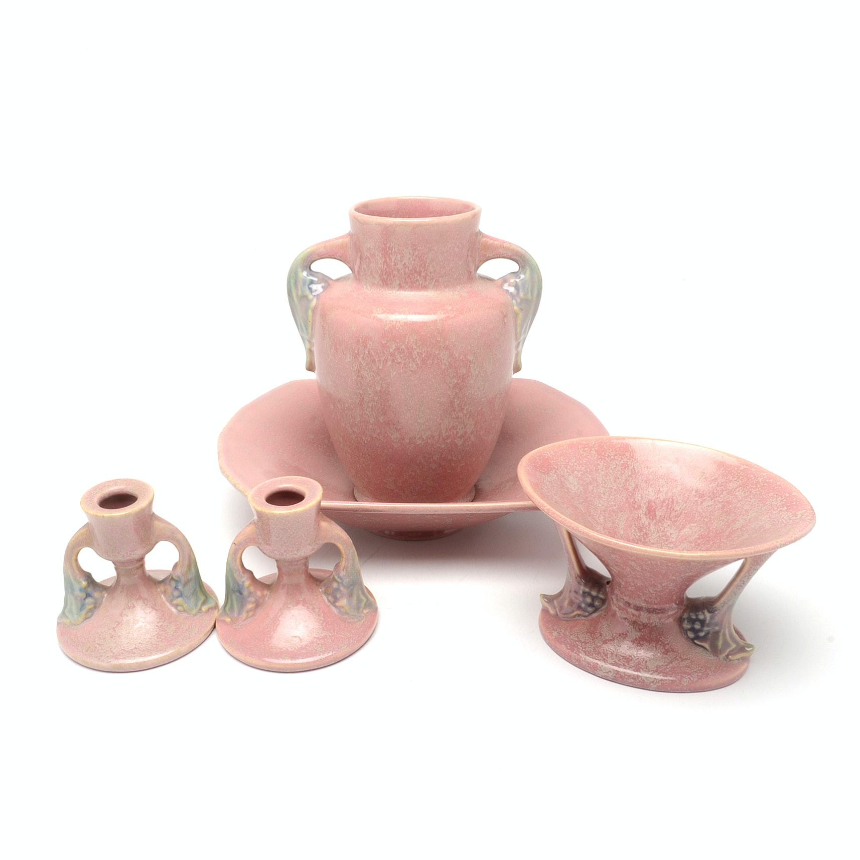 "Roseville Pottery ""Tuscany"" Decor"