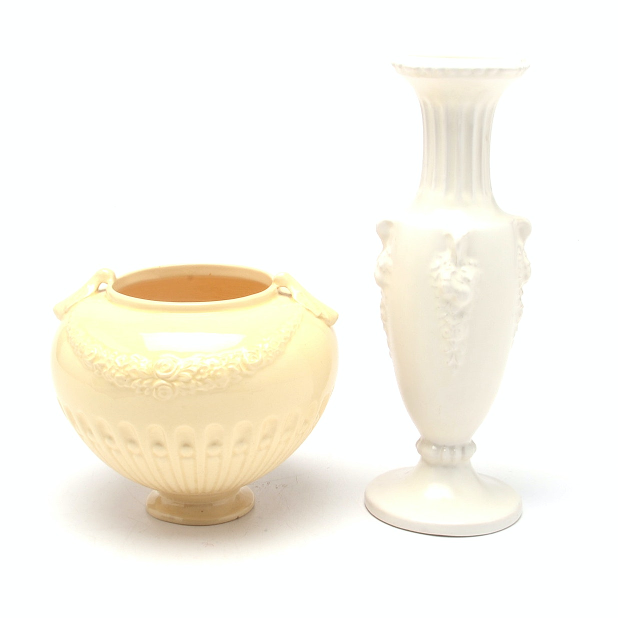 "Early Roseville ""Volpato"" Vases"