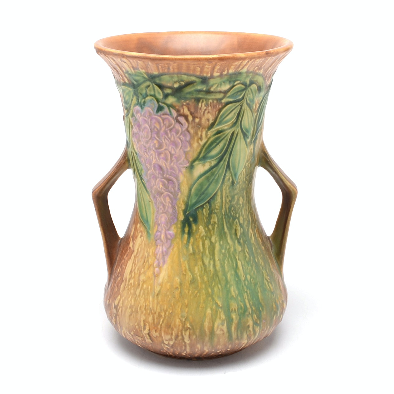 "Roseville Pottery ""Wisteria""Vase"