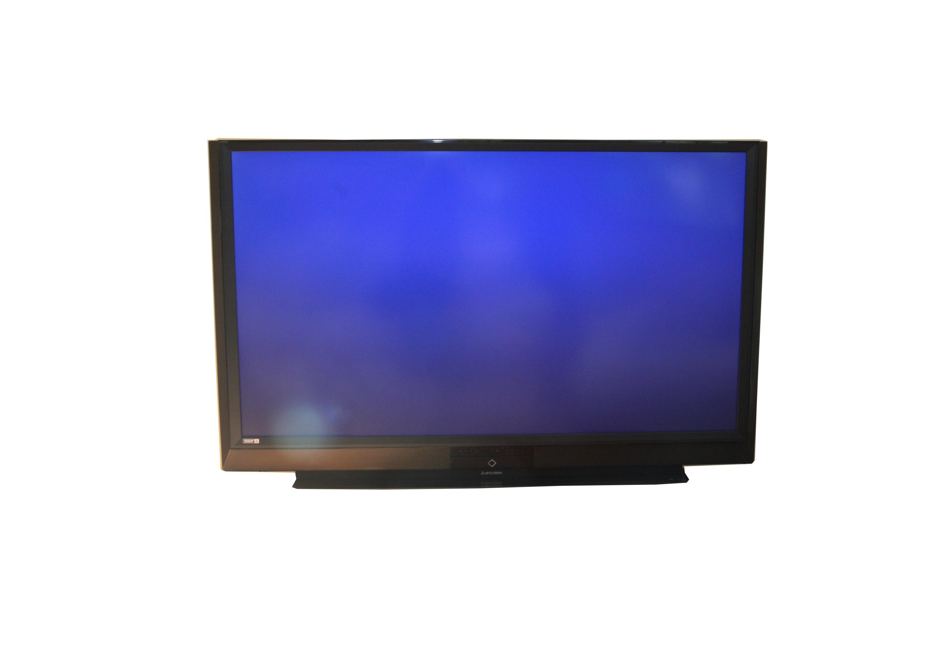 """Mitsubishi 72"""" 1080p Flat Screen Television"""