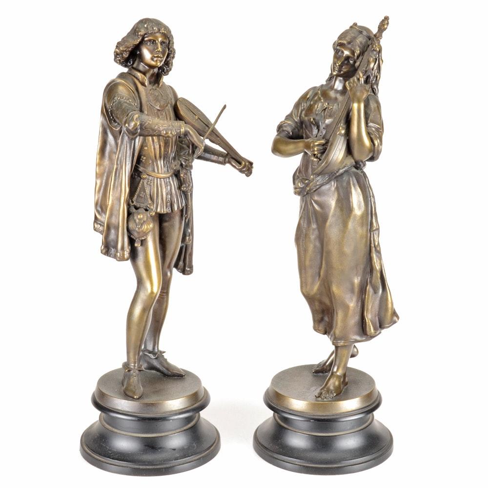 Pairing of Bronze Minstrels