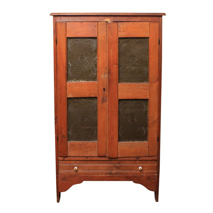 Antique Poplar Pie Safe