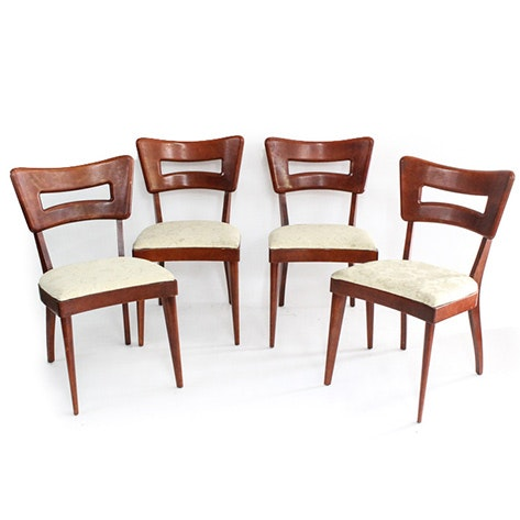 "Set of Four Mid Century Modern Heywood-Wakefield ""Dog Bone"" Dining Chairs"