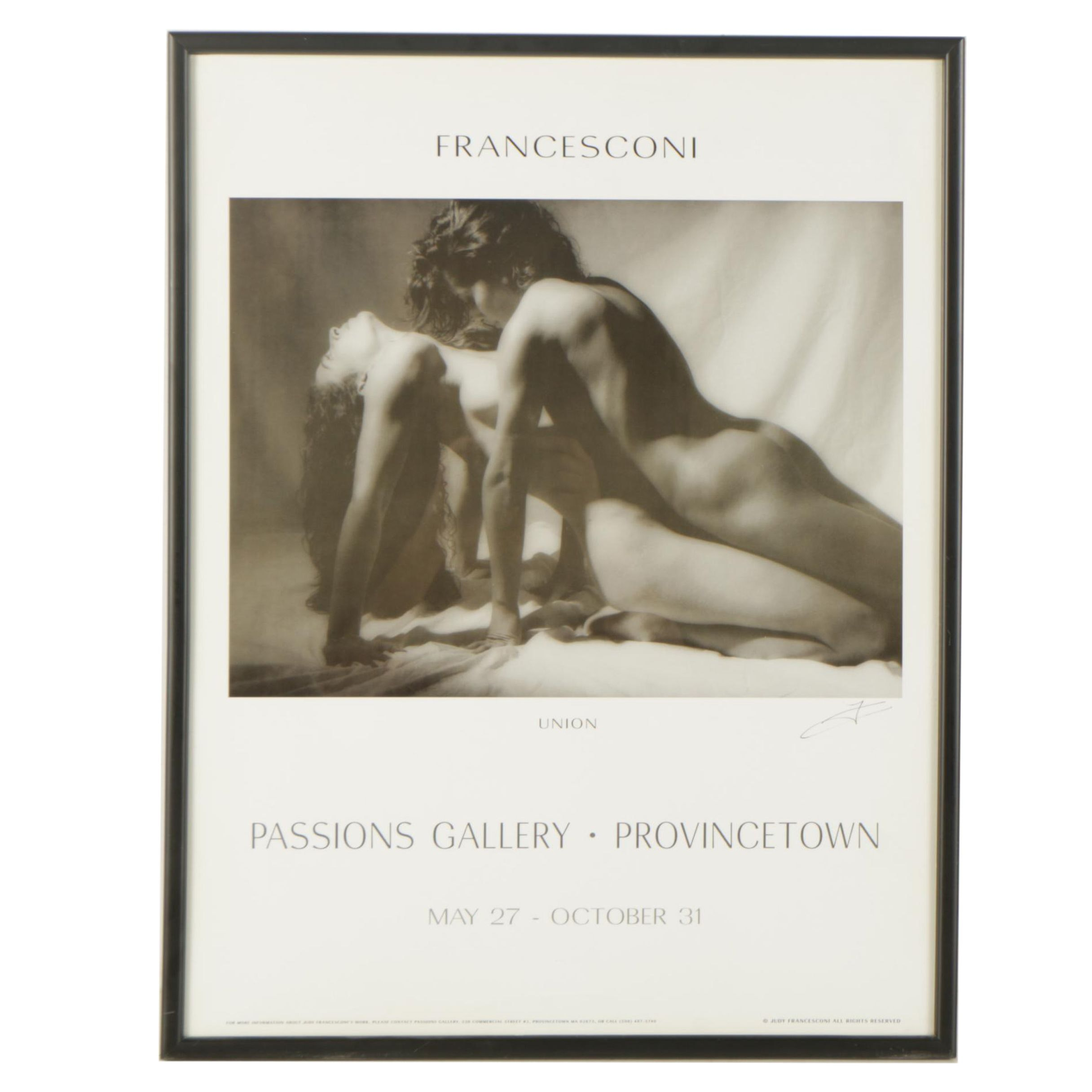 "Judy Francesconi Gallery Poster Featuring ""Union"""