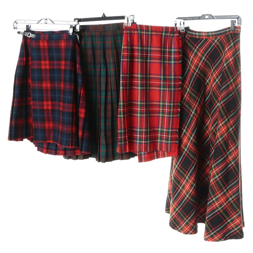 66db9af163 Women's Vintage Wool Kilts and Skirts Including Brooks Brothers : EBTH