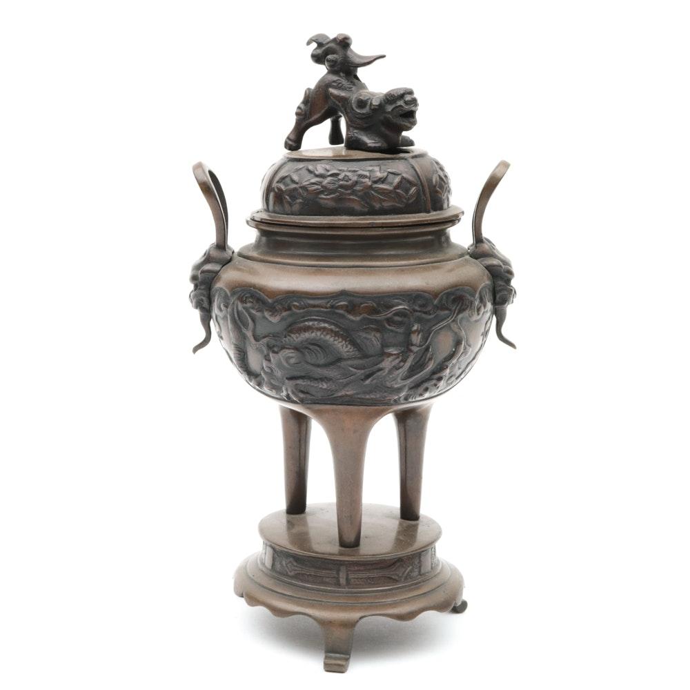 Bronze Asian Inspired Censer