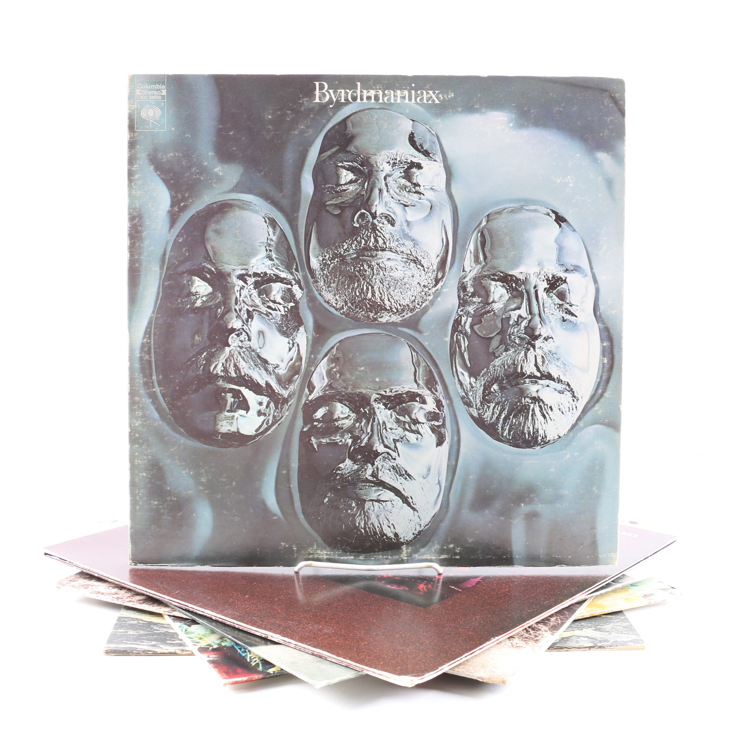 """The Byrds and Roger McGuinn LPs Including """"Byrdmaniax"""" and """"Farther Along"""""""