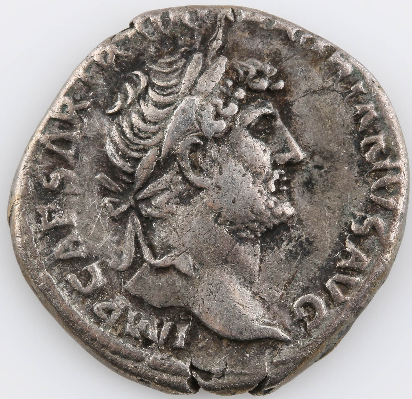 Ancient Roman Silver Denarius Coin: Hadrian 117-138 A.D