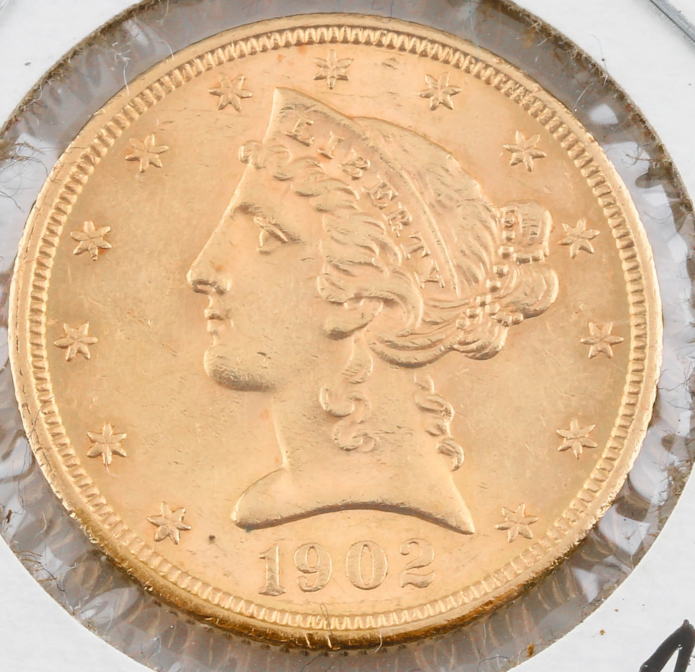 1902-S Liberty Head $5 Gold Coin