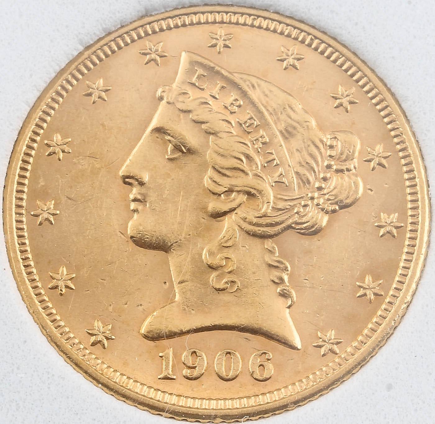 1906-D Liberty Head $5 Gold Coin