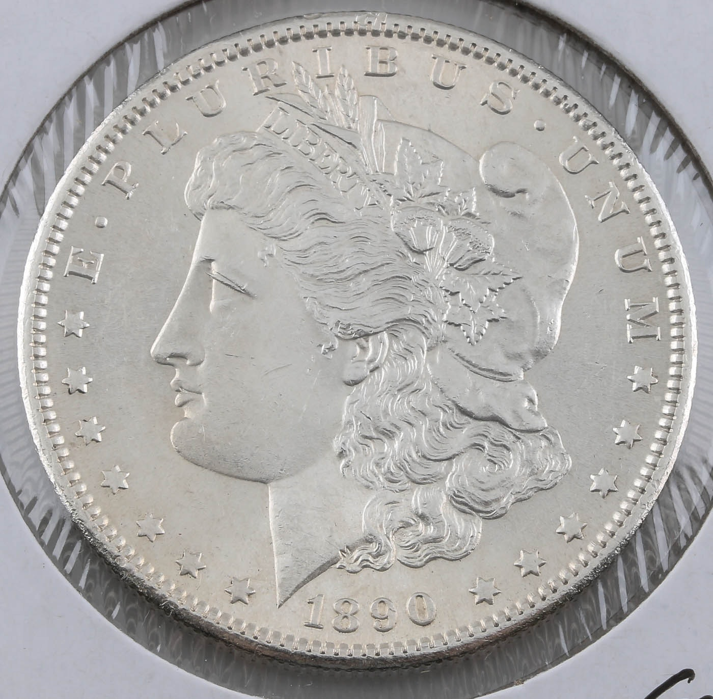 1890-S Silver Morgan Dollar