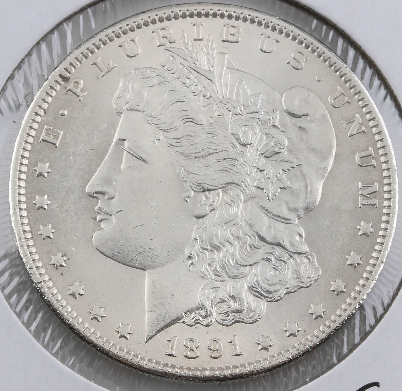 1891-S Silver Morgan Dollar