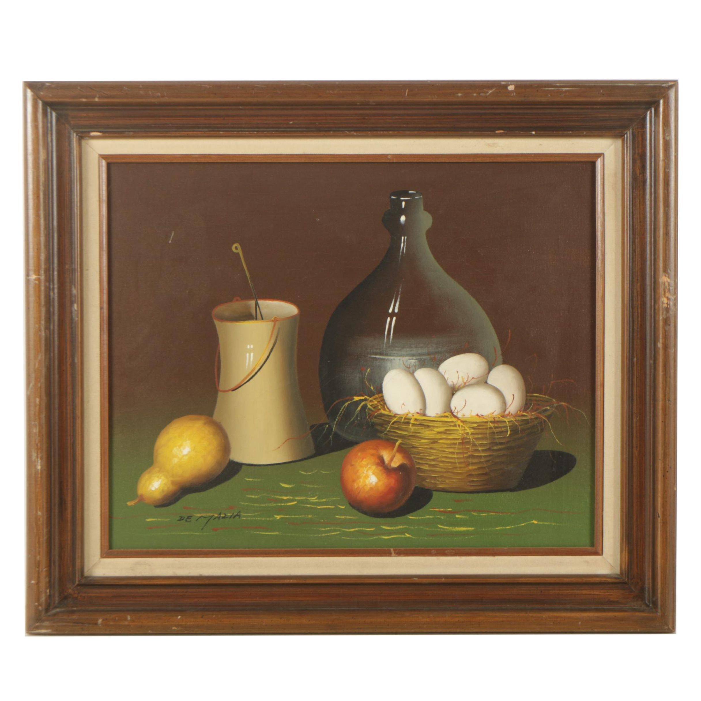 Violet De Mazia Oil Painting of a Still Life