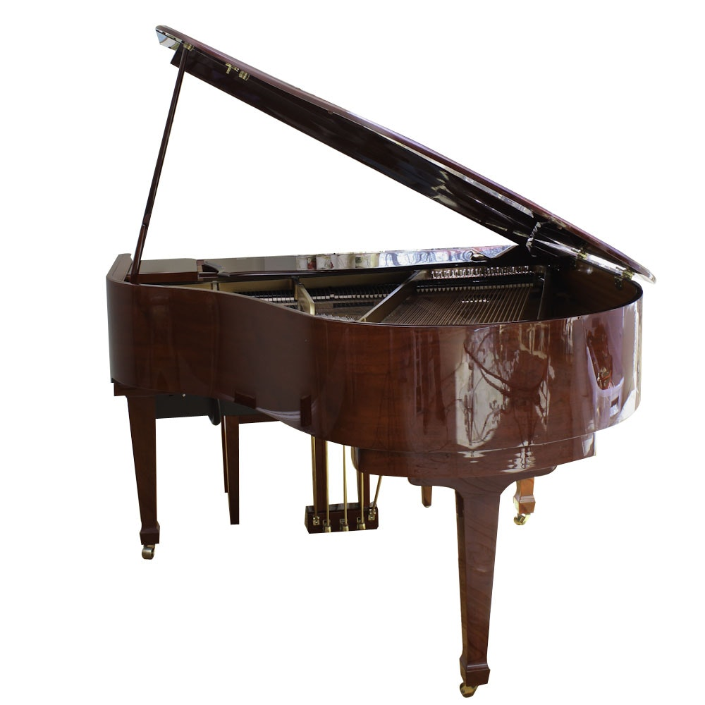 Kohler & Campbell Baby Grand Piano with QRS Pianomation