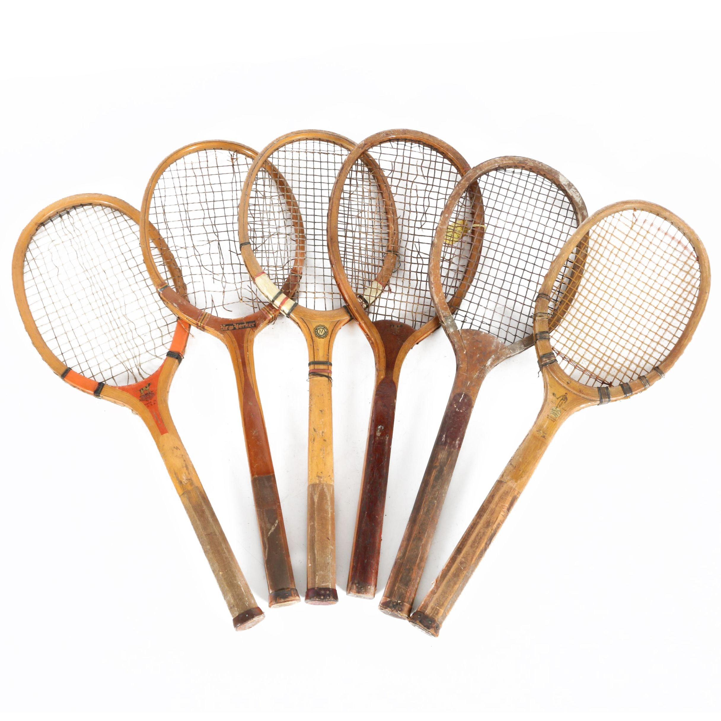 Vintage Racquets by Ken-Wel, Draper & Maynard and More
