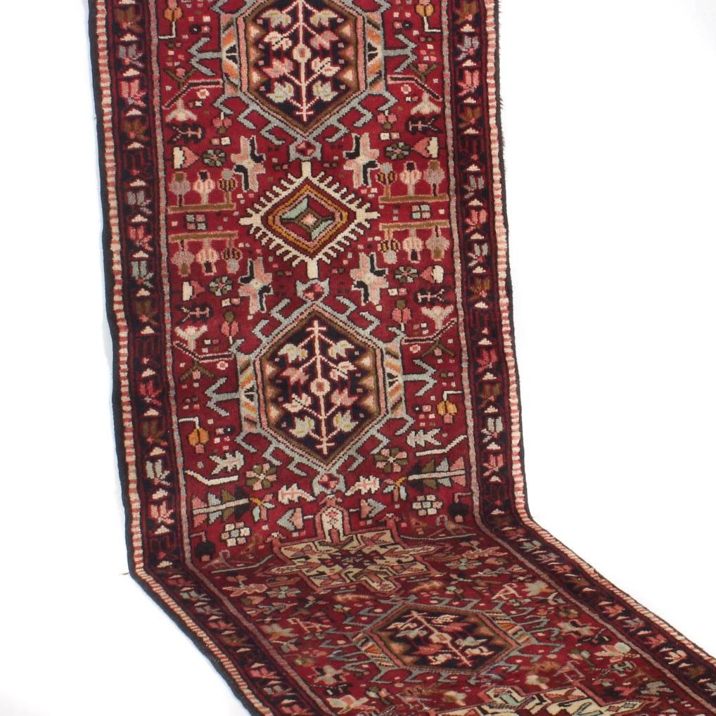 3' x 11' Semi-Antique Persian Karaja Runner