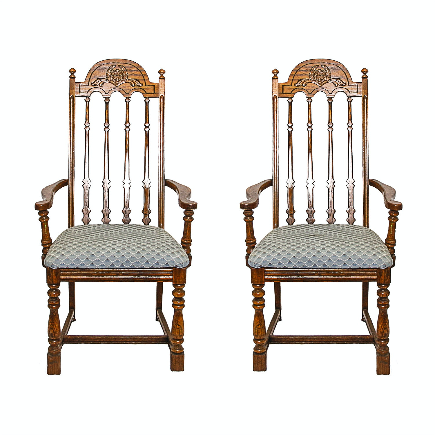 Pair of Vintage Dining Chairs