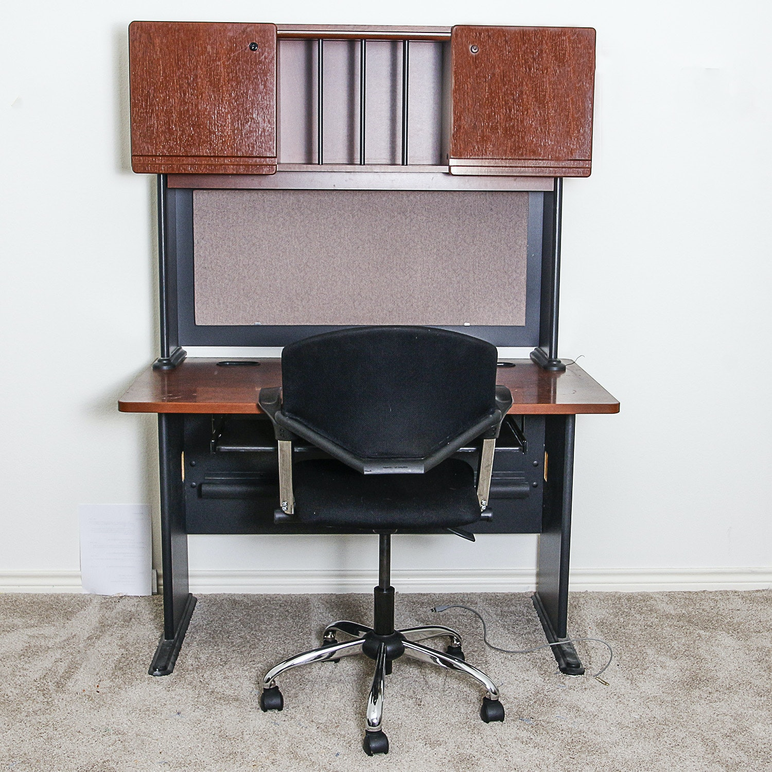 Contemporary Office Desk and Chair