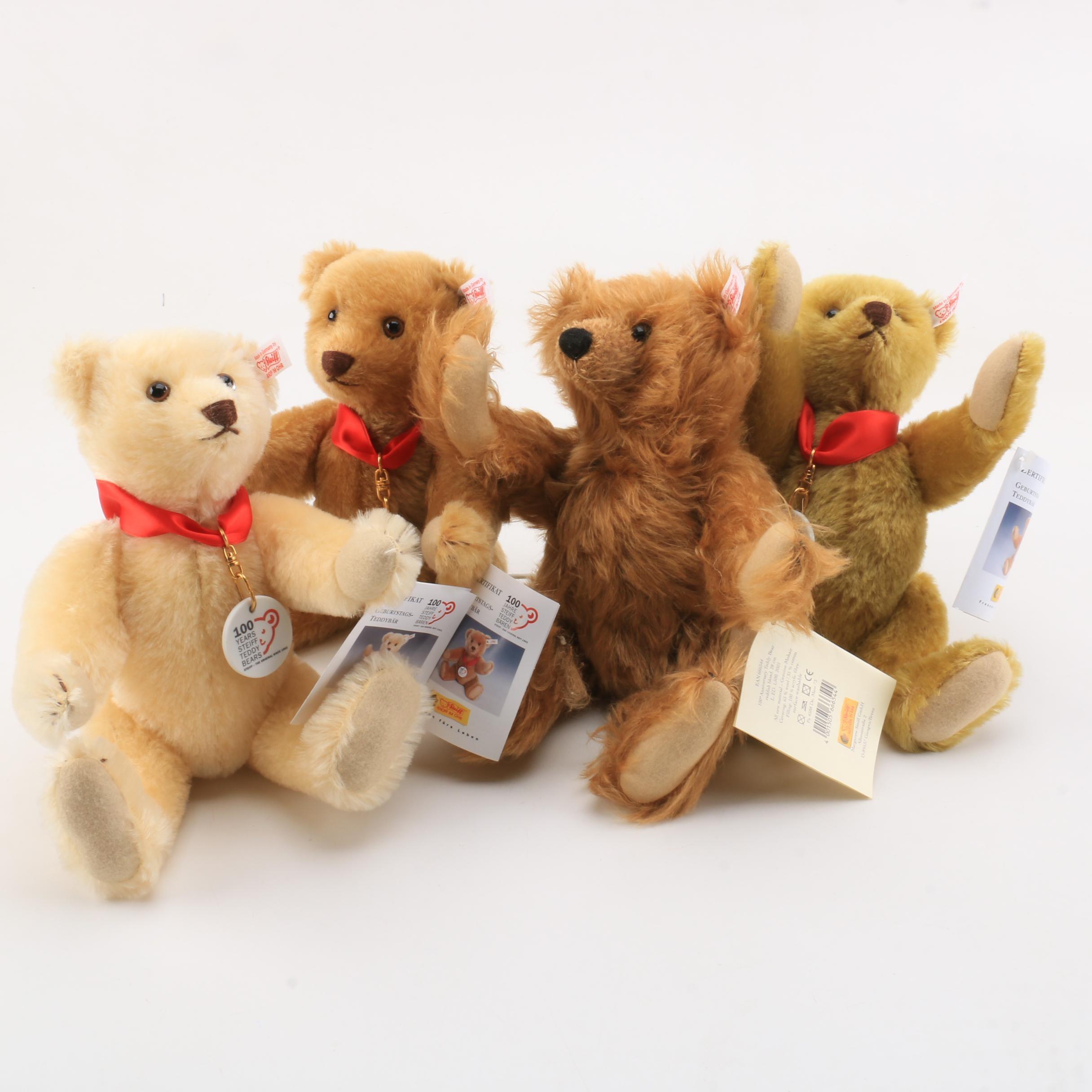 2002 Steiff 100th Anniversary Teddy Bears