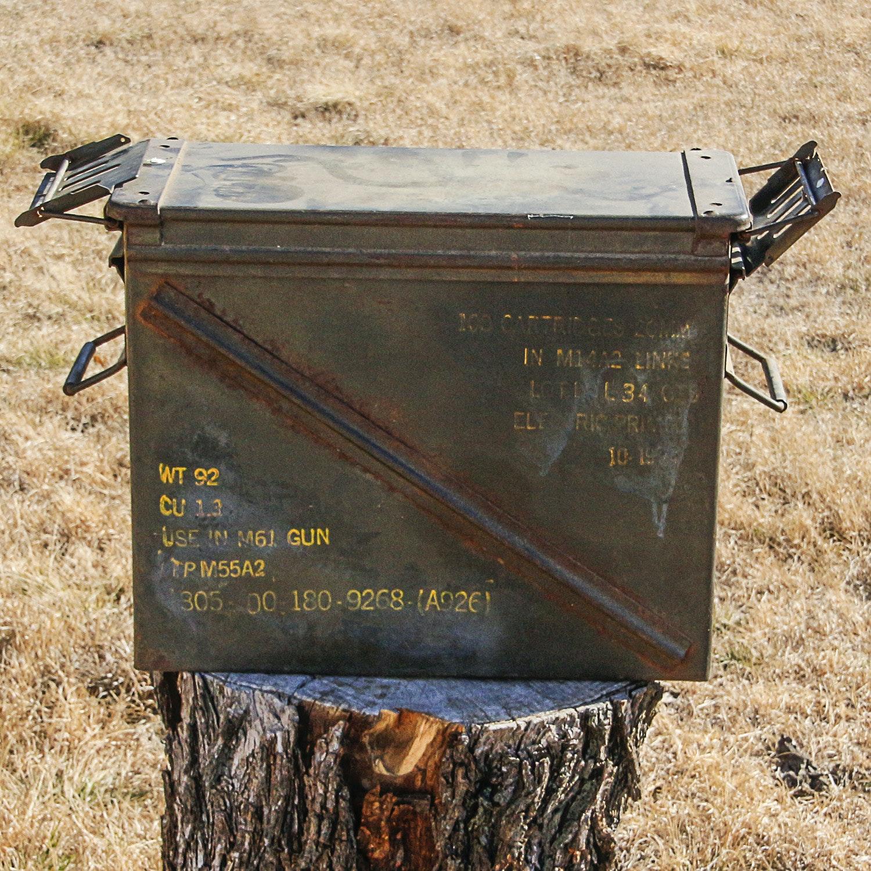 Vintage M61 Ammunition Box