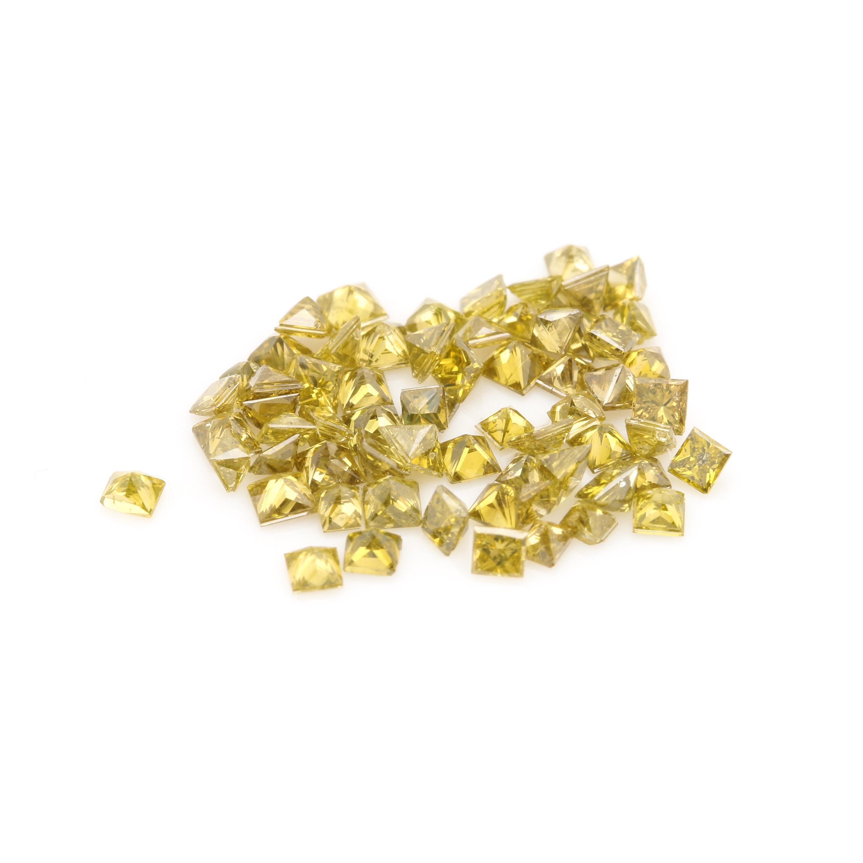 Assortment of Loose 2.16 CTW Yellow Diamonds