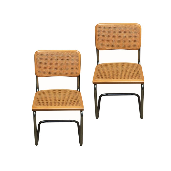 "Mid Century Modern ""Cesca"" Style Chairs"