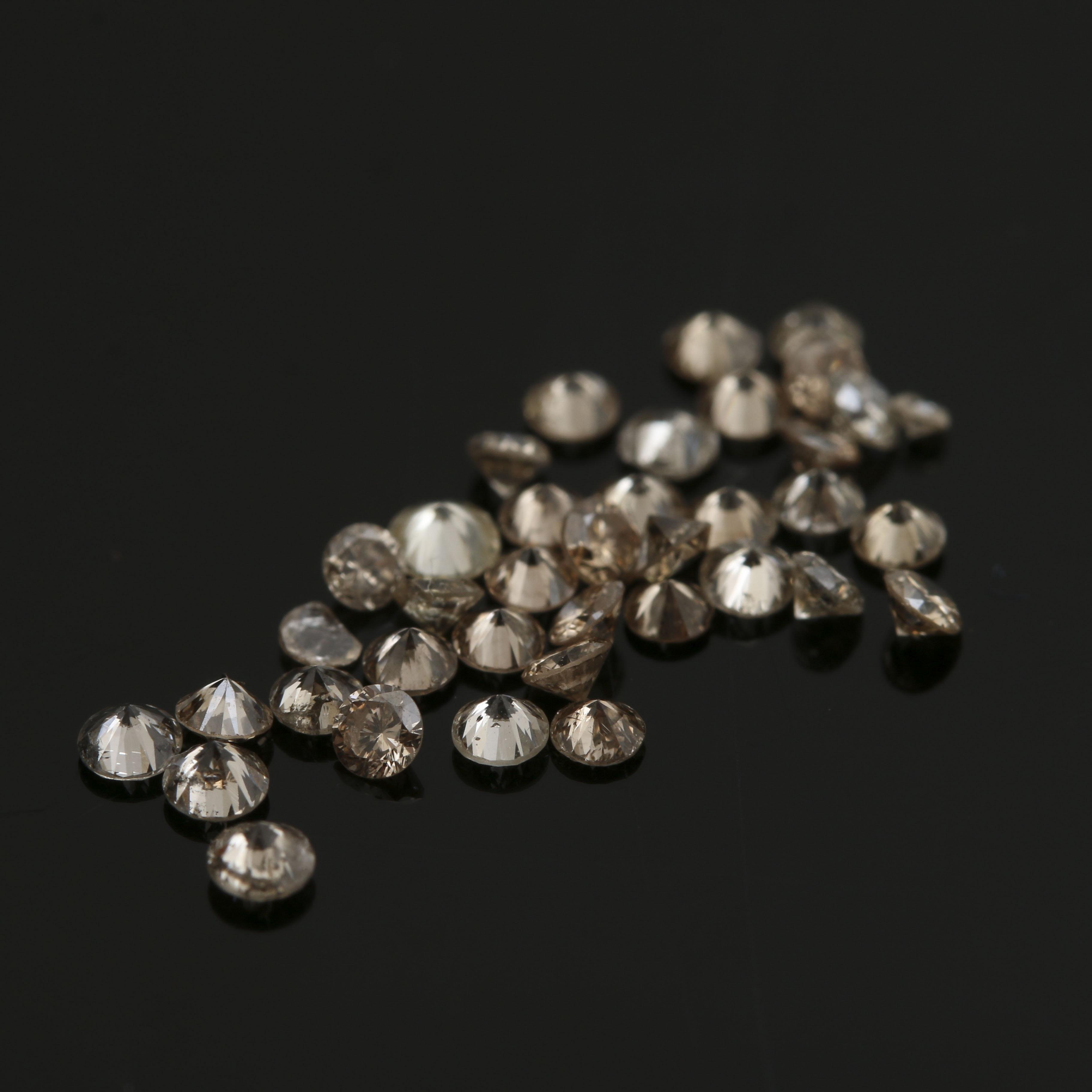 Loose 1.39 CTW Diamonds