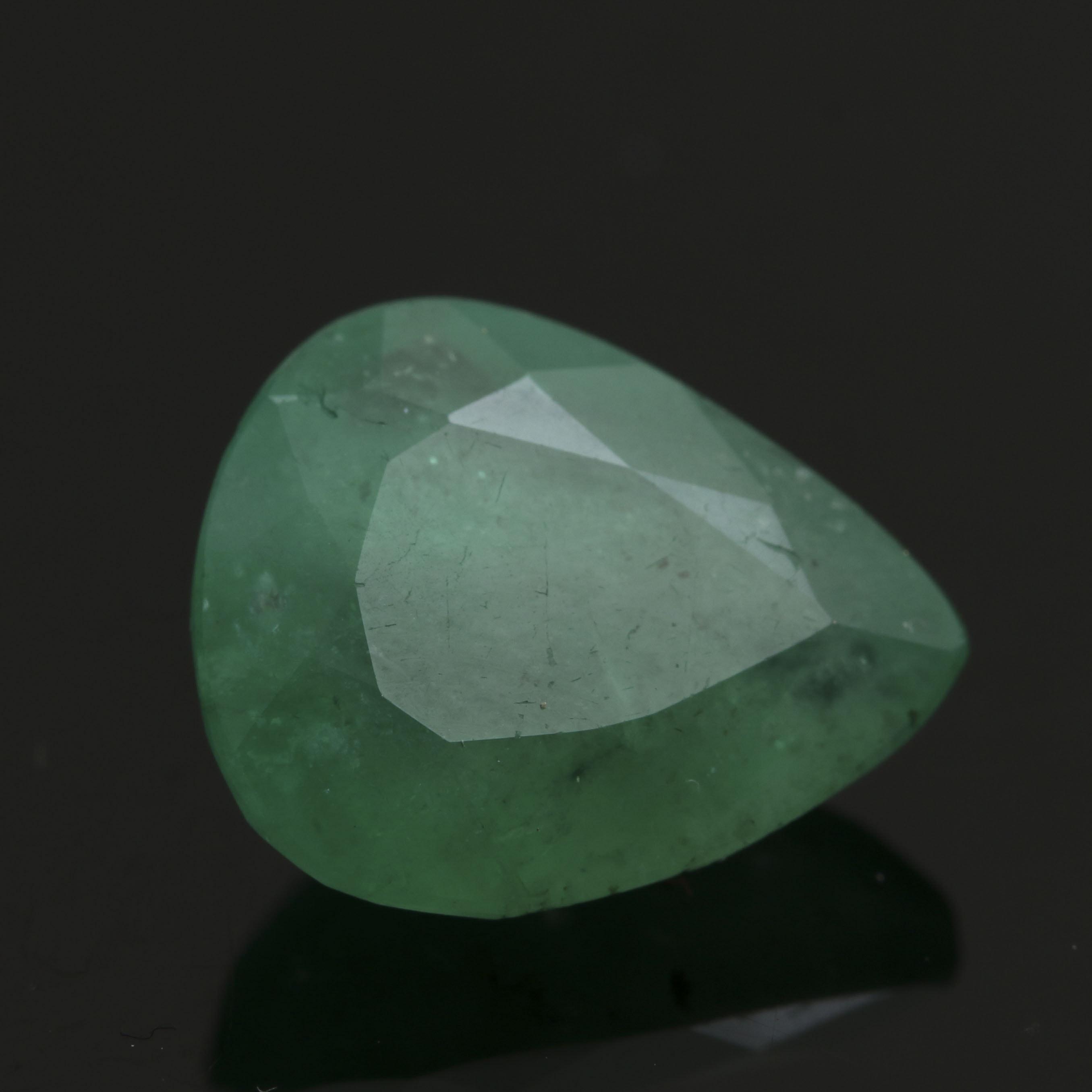 Loose 4.60 CT Emerald