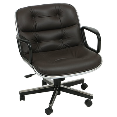 """Charles Pollack for Knoll """"Executive Armchair"""""""