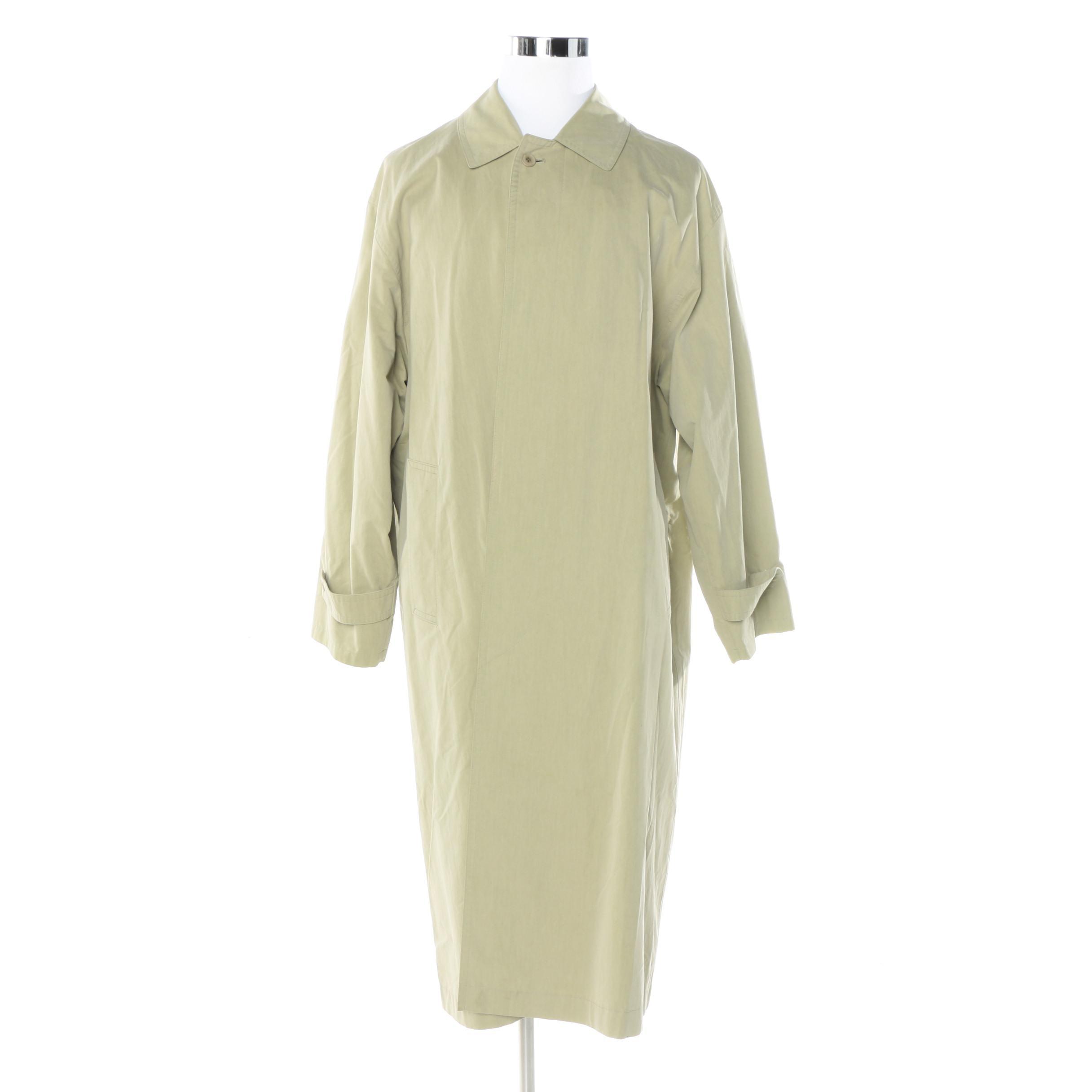 Men's Burberry Prorsum Collection Trench Coat