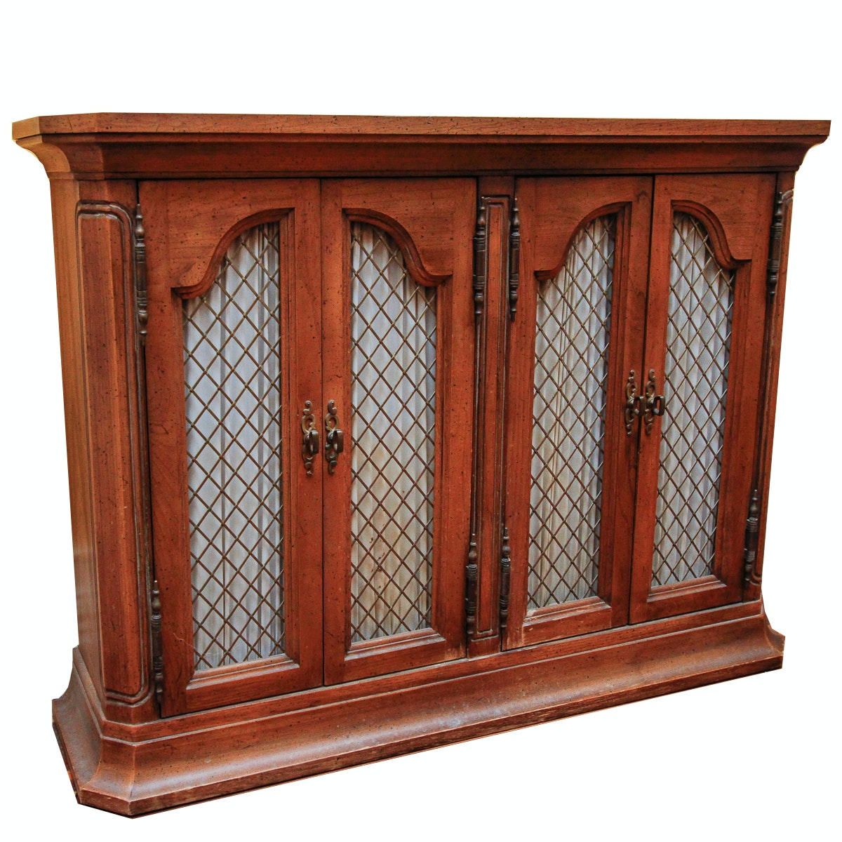 Regency Style Sycamore Console