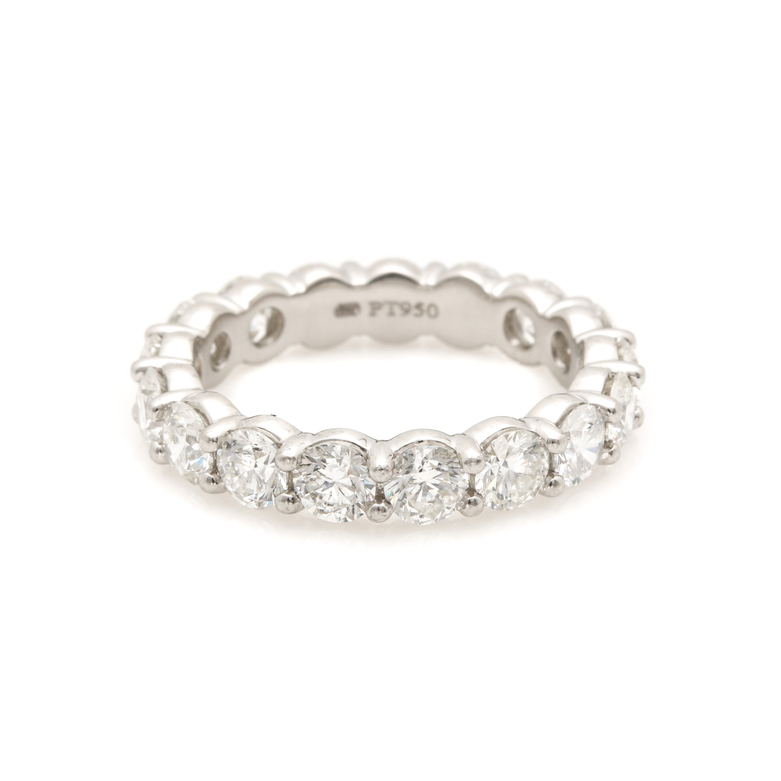 Platinum 2.68 CTW Diamond Eternity Ring