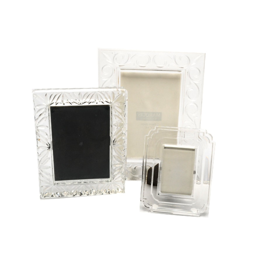 Crystal Glass Photo Frames Including Waterford Crystal Ebth