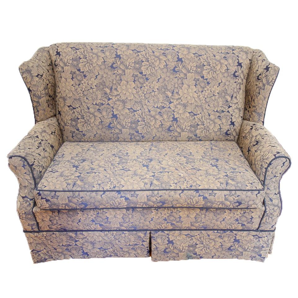 Vintage Upholstered Settee