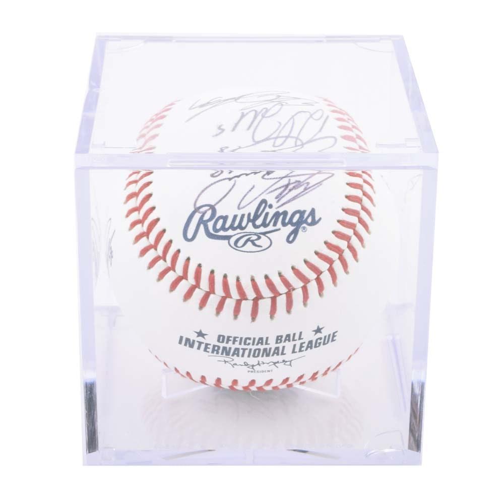 Charlotte Knights Autographed Team Baseball